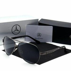 Mercedes Benz Polorized aviator Driver sunglasses